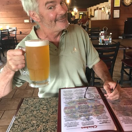 Hurley, WI: They said large...they mention it🍺