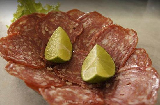 Bar do Vinicius: Porção de salaminho.