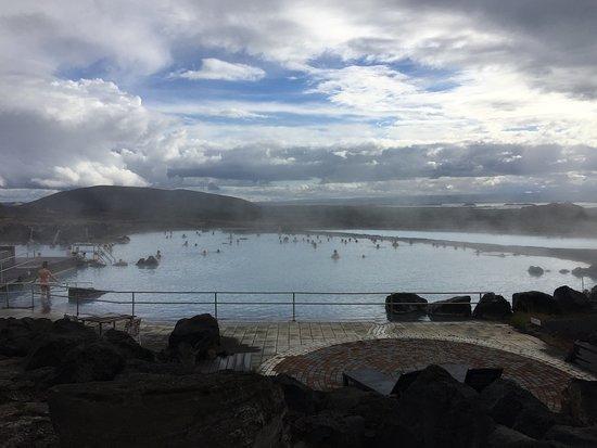 米湖天然浴场照片