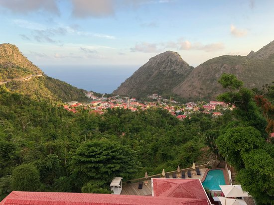 The Bottom, Saba: View from our room