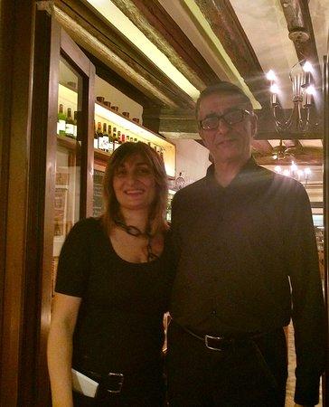 Ristorante Marco Polo: Owners at ristorante