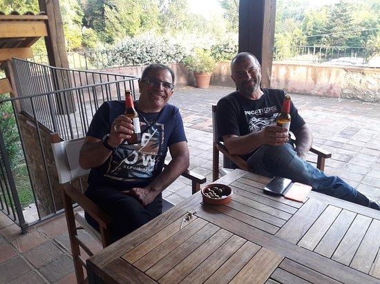 Bigues i Riells, إسبانيا: convivial je vous dis photo prise par le Boss