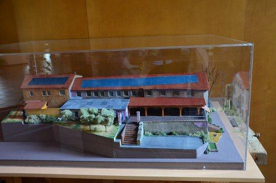 Bigues i Riells, إسبانيا: maquette de l'hotel