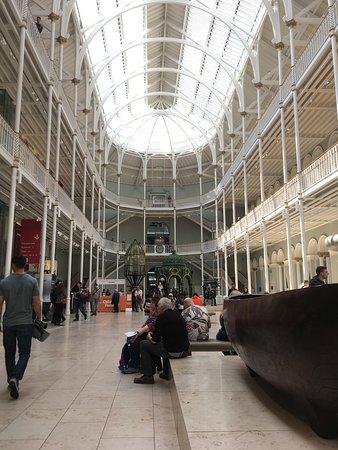 Edinburgh, UK: Main hall
