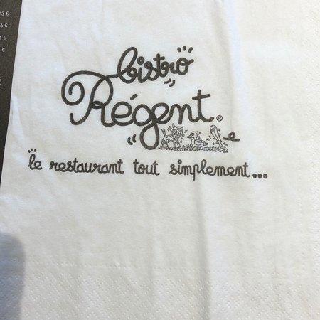 Tresses, France: Bistro Regent