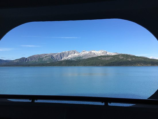 Glacier Bay National Park & Preserve: Mountains within Glacier Bay from the ship