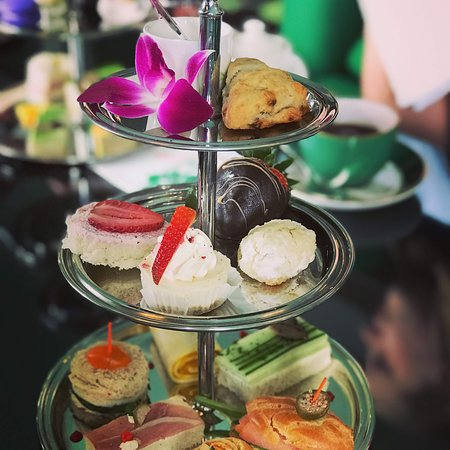 Afternoon Tea in the Parlor at the Grand Hotel