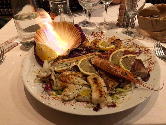 Chariot: Grigliata di pesce