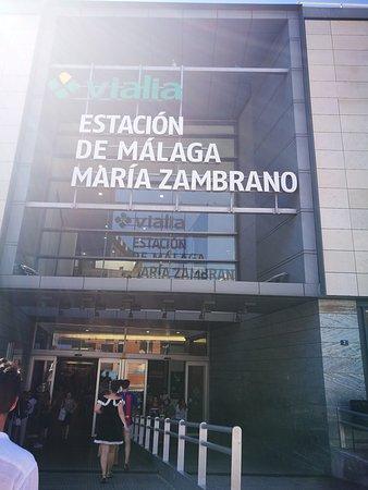 Estacion de Tren Malaga-Maria Zambrano