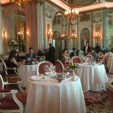 The Ritz London: Lunchtime menu at the Ritz