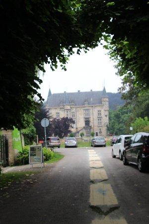 Schin op Geul, Países Baixos: oprijlaan naar het kasteel