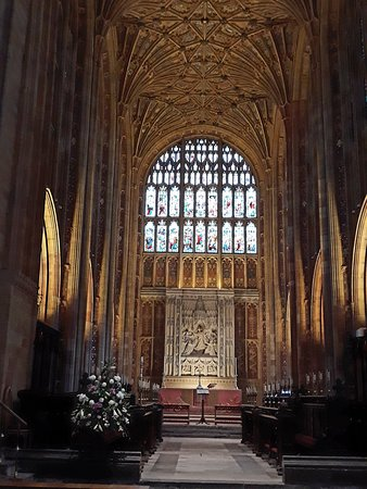 Sherborne Abbey: interno