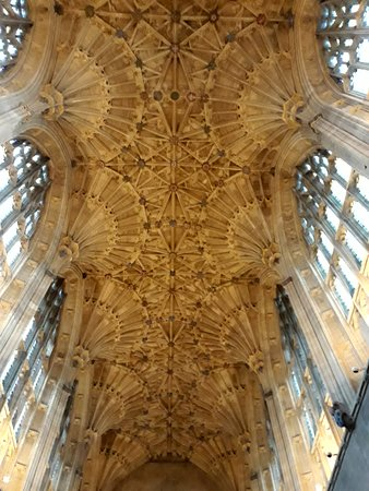 Sherborne Abbey: soffitto
