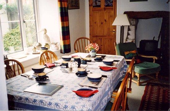 Uffington, UK: Dining Room