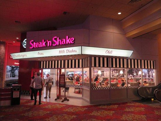 Steak 'n Shake: Downstairs location (below the movie cinemas)