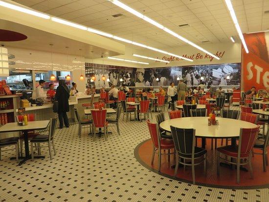 Steak 'n Shake: Inside the restaurant