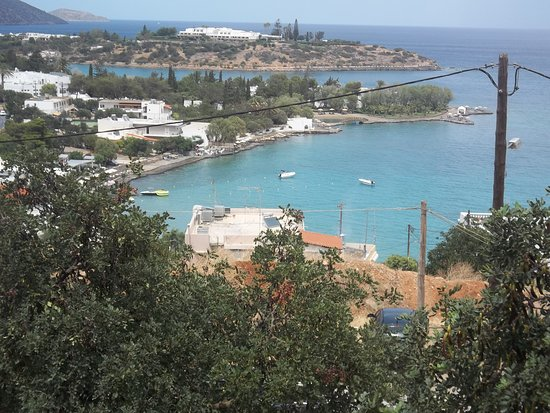 Golden Apartments: one of the wonderful views of agios nickolas