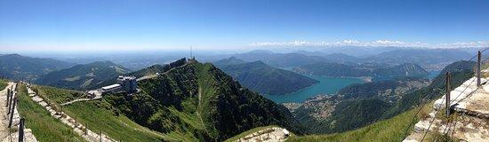 Capolago, سويسرا: Panorama 360 gradi