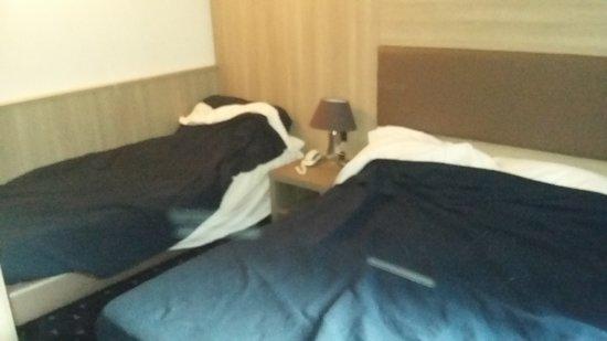 Hotel Roberta: camas