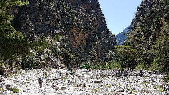 Samaria Gorge National Park照片