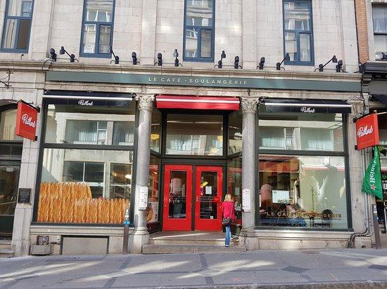 Paillard: Só a fachada já atrai o cliente