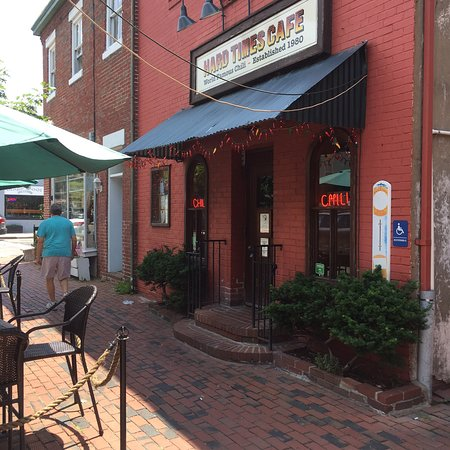 Hard Times Cafe Old Town Alexandria Menu