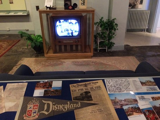 Marceline, MO: The opening of Disneyland portrayed as it was in millions of homes across the country.