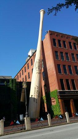 Bilde fra Louisville Slugger Museum & Factory