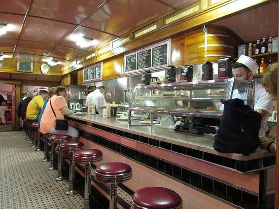 Lamy's Diner: Inside Diner