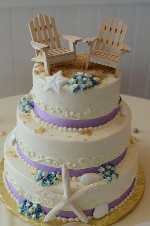 Severna Park, MD: our wedding cake!