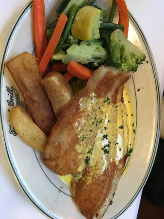Tadich Grill: Recommend the pan fried