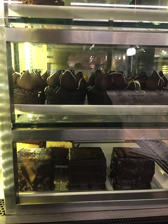 RMB Cafe Bar: Selection of cakes and slices