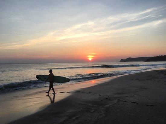 Tola, Nikaragua: Sunset from Playa Amarilla
