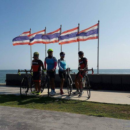 Pathum Thani, Thailand: Bike tour in Thailand