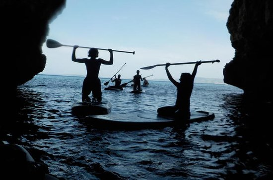 Cuevas de Stand Up Paddle Tour
