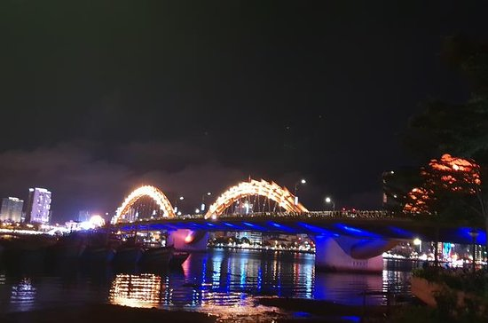 DA NANG NIGHTLIFE Tour  with MARBLE MOUNTAIN ,MONKEY MOUNTAIN...