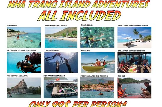 NHA TRANG ISLANDS ADVENTURES TOUR
