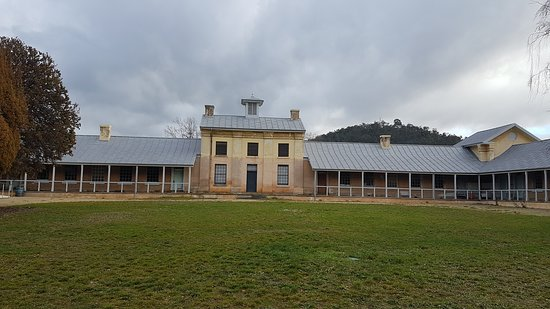 New Norfolk, Australien: The old buildings