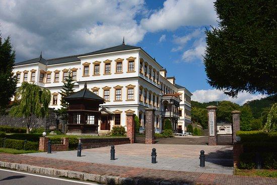 Kosaka-machi, Japan: 小坂鉱山事務所右側面