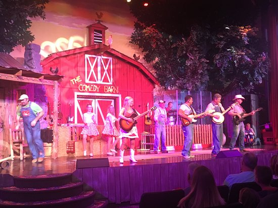 The Comedy Barn: singing
