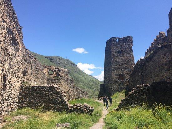 Aspindza, Georgia: Развалины крепости