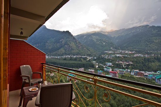 Manali, Indien: Beautiful view from room