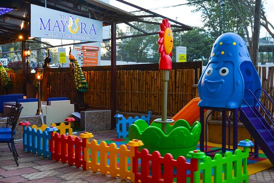 The Mayura: Kiddy play area at Westlands branch