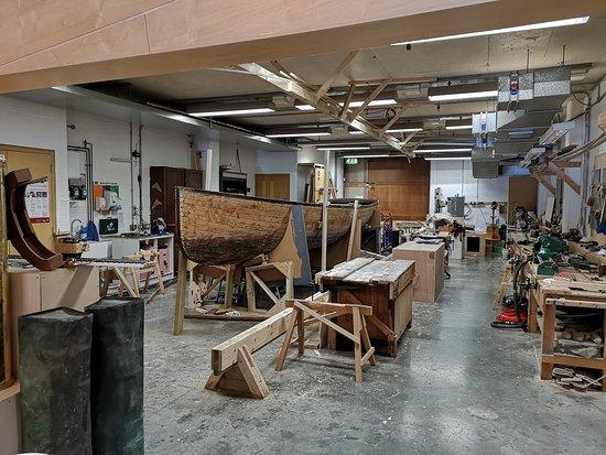 National Maritime Museum Cornwall: Restauration.