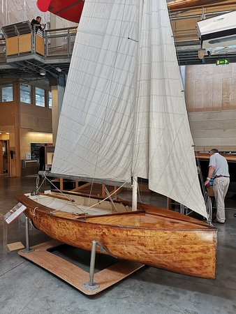 National Maritime Museum Cornwall: Boat.