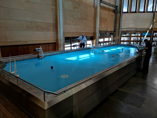 National Maritime Museum Cornwall: Indoor pool for toy boats.