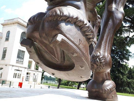 Leonardo da Vinci's Horse照片