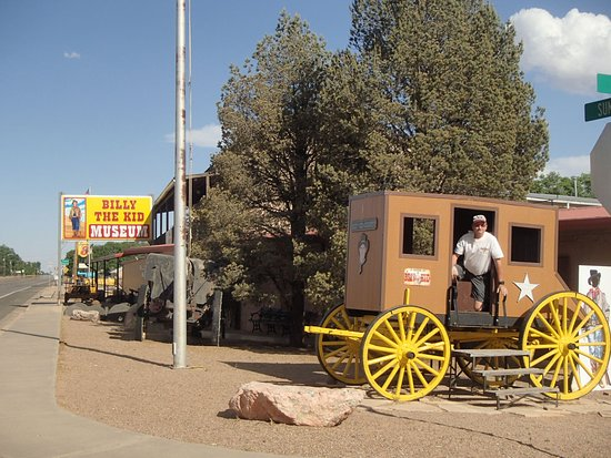 Billy the Kid Museum: One of many antiques on display