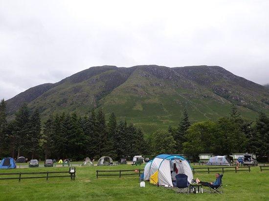 Glen Nevis Caravan and Camping Park: 20180701_184626_large.jpg