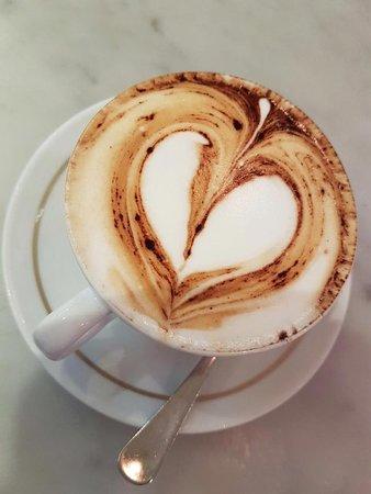 Moscova 7: il nostro cappuccino